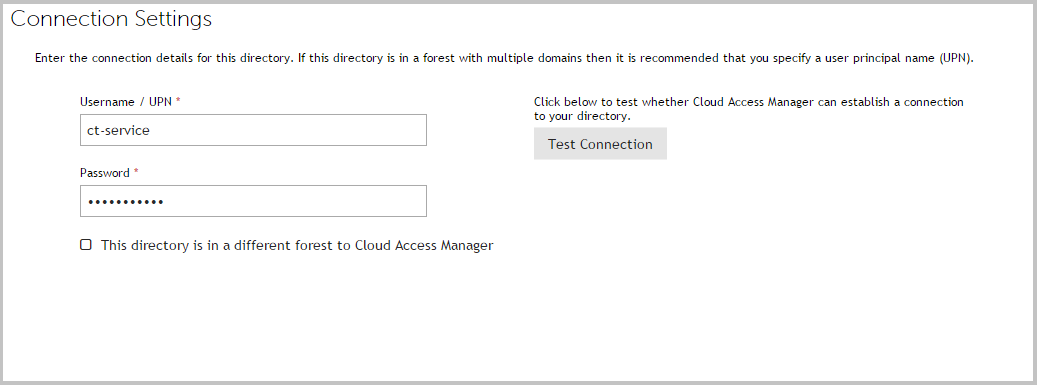 Cloud Access Manager 8 1 3 - Configuration Guide