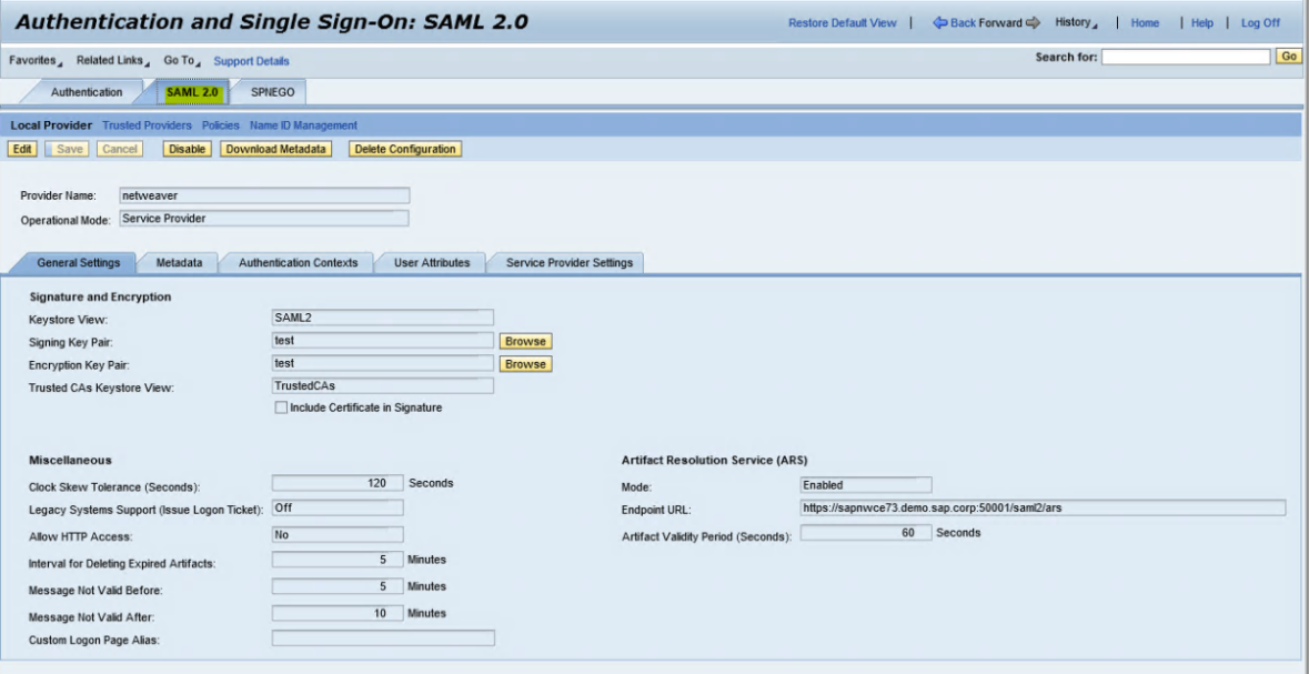 Cloud Access Manager 8 1 3 - How to Configure for SSO to SAP